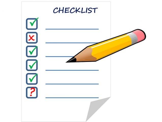check list redactar notas de prensa Agencialia Comunicación