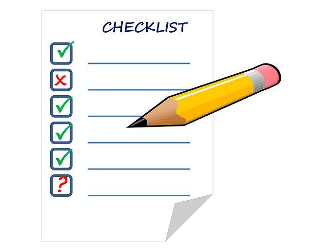 Check list para redactar y enviar notas de prensa. Agencialia Comunicación